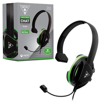 AU34.95 • Buy Turtlebeach Turtle Beach Ear Force Recon Chat Wired Headset For Xbox One NEW
