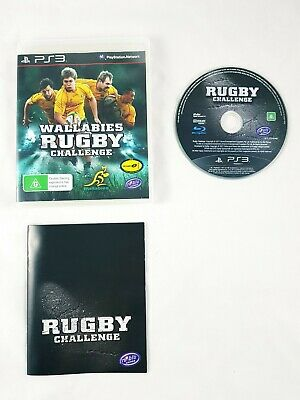 AU9.95 • Buy Wallabies Rugby Challenge PlayStation 3 PS3 Game With Manual - Like New