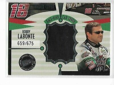 $3.99 • Buy Bobby Labonte 2002 Press Pass Eclipse Under Cover Drivers Car Cover 659/675