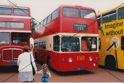 Bus Photo Of A Pmt Potteries Photograph Picture Of A Leyland Atlantean 766evt. • 0.40£