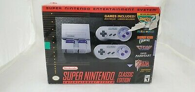 $ CDN90 • Buy (LUP) Nintendo Super NES Console - Classic Edition