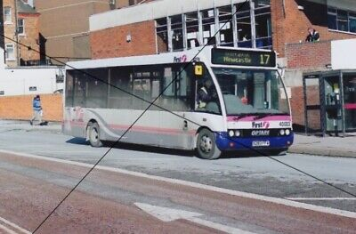 Bus Photo, First Stoke Potteries Photograph Picture, Optare Solo On Route 17 • 0.40£