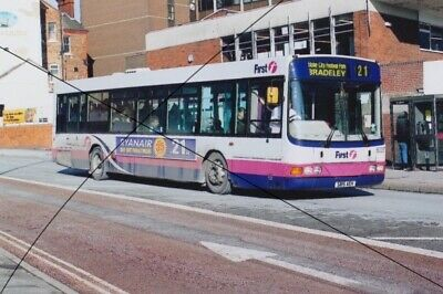 Bus Photo, First Potteries Of Stoke Photograph Picture Of A Scania On Route 21 • 0.40£