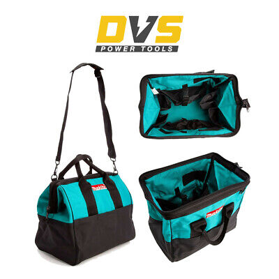 Makita 14  36cm Open Mouth LXT ToolBag Tool Bag Holdall Blue And Shoulder Strap • 29.90£