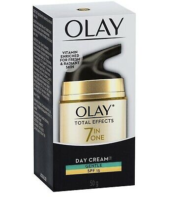 AU25 • Buy Olay Total Effects 7 In One Day Face Cream Gentle SPF 15 50g