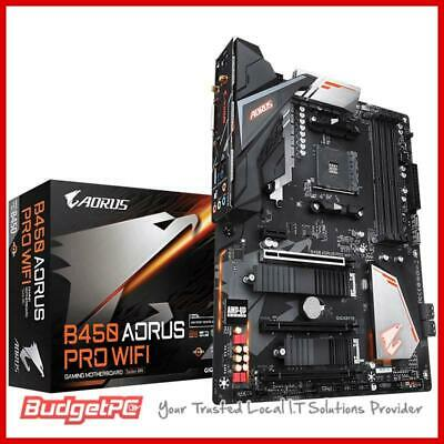 AU289 • Buy Gigabyte B450 AORUS Pro WiFi AM4 ATX Desktop Motherboard