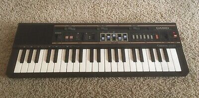 $79.99 • Buy Casio Casiotone MT-52 Vintage Keyboard Battery Compartment Clean WORKS EXCL