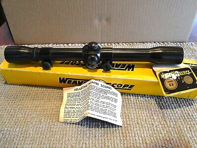 $66 • Buy Vintage Weaver K6 Scope With Original Box, Papers, Weaver Rings; VG Condition.