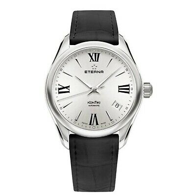 ETERNA 1260.41.12.1378 Women's KonTiki Silver Automatic Watch • 244.18£