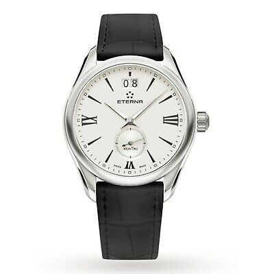 ETERNA 1270.41.12.1378 Women's KonTiki Silver Quartz Watch • 132.63£