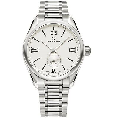 ETERNA 1270.41.12.1731 Women's KonTiki Silver Quartz Watch • 162.56£