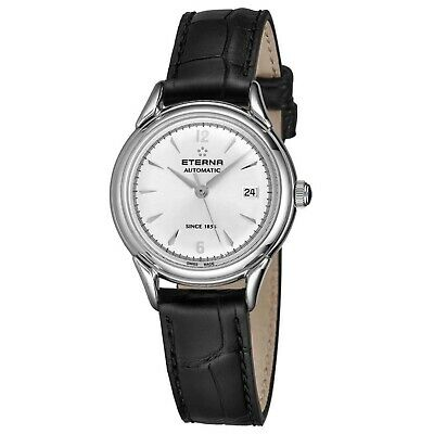 ETERNA 2956.41.13.1389 Women's Heritage Silver Automatic Watch • 366.61£