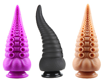 AU99.95 • Buy 8' Inch Silicone Fantasy Dildo Tentacle Alien Hentai Mythical Adult Sex Toy Dong