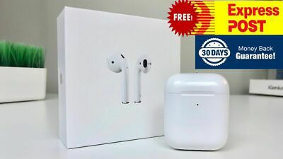 AU189.99 • Buy Apple AirPods (2nd Gen) With Wireless Charging Case