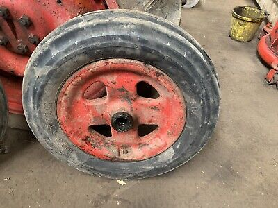 Fordson Major E27n Front Wheel And Very Good Tyre Cast • 60£