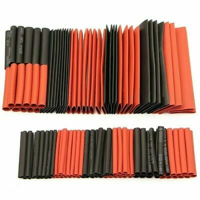 127Pcs  Electrical Cable Heat Shrink Tube Tubing Wrap Sleeve Assorted 7 Sizes • 3.99£