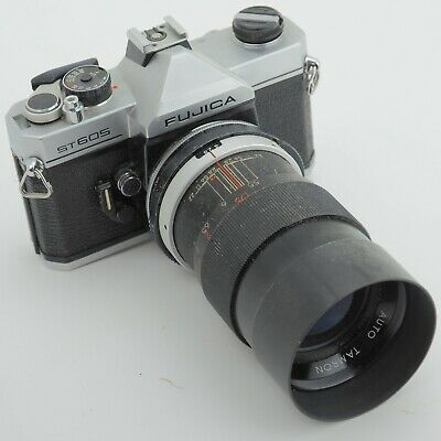 Old Vintage Fujica St605 Collectable Film Camera And Early Tamron Lens  • 59£
