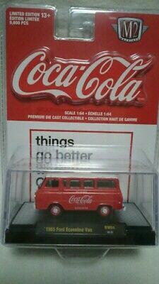 $ CDN20 • Buy 1965 Ford Econoline Van Coca-cola M2 Machines Diecast Limited Edition 1:64
