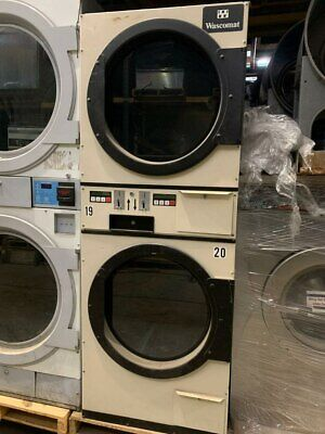 $1400 • Buy AD235 Commercial Laundromat Stack Gas Dryer, Used