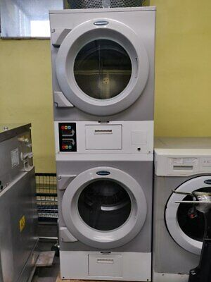 $1600 • Buy DAWS2EDC Commercial Laundromat Wascomat Crossover Stack Electric Dryer, Used