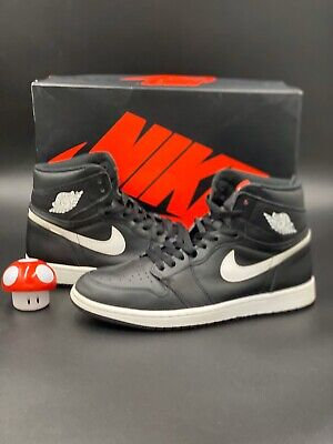 $100 • Buy Nike Air Jordan 1 Retro High OG Yin Yang Size 10 555088-011 Black White