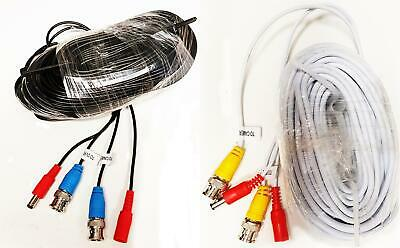 £7.99 • Buy Genuine Swann 18m 2-in-1 BNC Video Power Cable Shotgun CCTV Cable RG59 Extension