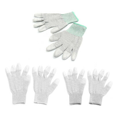 $5.42 • Buy Anti Static Anti Skid ESD Electronic Labor Working Glove PC Computer Repair L6V8