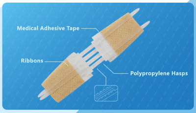 $ CDN81.83 • Buy 10 Zipstitches Plus More Supplies - Quick And Easy Skin Closure Devices