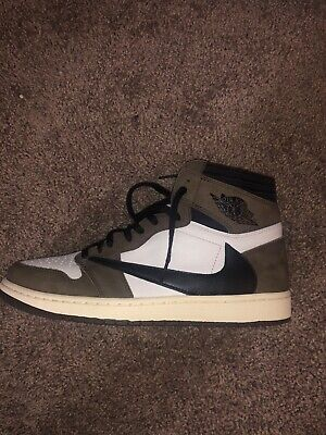 $500 • Buy Air Jordan 1 Travis Scott OG CACTUS JACK Size 12