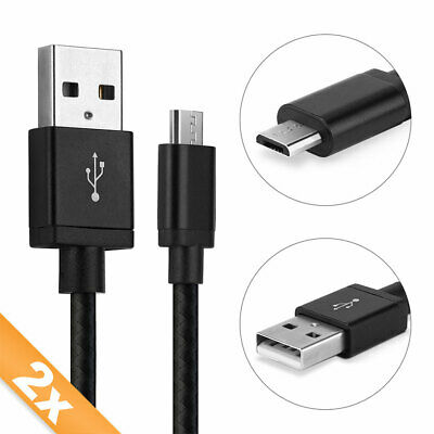 £16.90 • Buy 2x USB Cable For TomTom Rider 400 Pro 7100 Start 62 Charging Wire 2A Black