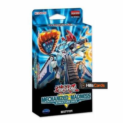 YuGiOh! Mechanized Madness Structure Deck | 1st Edition | New & Sealed TCG Cards • 10.40£