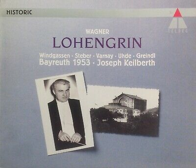 £12.95 • Buy WAGNER - LOHENGRIN - 4 X CD BOX SET & DELUXE 168 PAGE BOOKLET - FREE UK POSTAGE