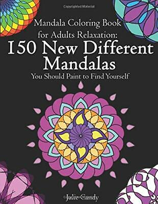 $13.95 • Buy Mandala Coloring Book For Adults Relaxation:Paperback – April 4, 2020