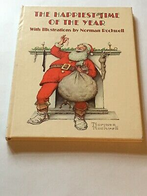 $ CDN5.33 • Buy The Happiest Time Of The Year Illustrated By Norman Rockwell & Christmas Poems