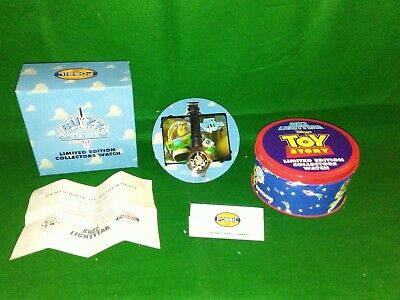 $29.99 • Buy DISNEY'S Toy Story Buzz Lightyear LE Collectors Watch And Tin By FOSSIL NEW