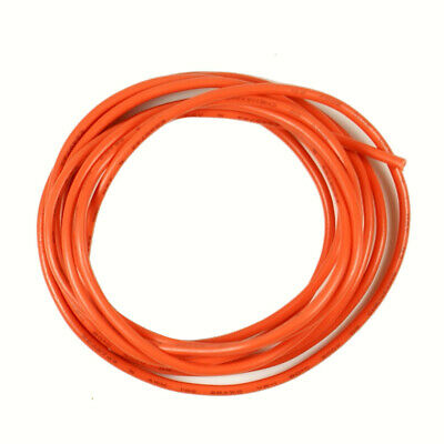 £4.24 • Buy Shielded Guitar Circuit Wire Single Conductor 28 AWG, 6-Foot Tangerine