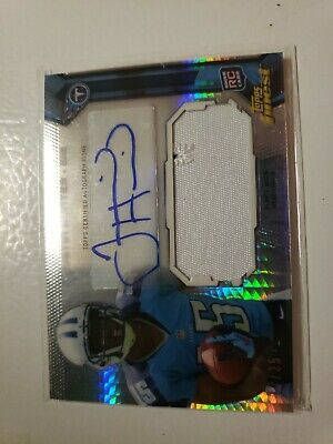 $7.99 • Buy Justin Hunter 2013 Topps Finest Rookie Autograph Jersey Card 17/25