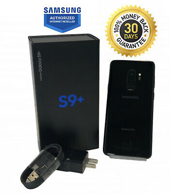 $ CDN346.67 • Buy Samsung Galaxy S9+ Plus Sm-g965u Black 64gb Unlocked Verizon Customers Free Ship