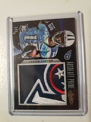 $19.99 • Buy Justin Hunter 2013 Absolute Prime Rookie Jersey Card #216 1/5