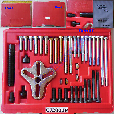 $309.99 • Buy New Snap On Bolt Grip Puller Set CJ2001P Steering Wheels Flywheels Gears Pulleys