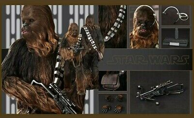 AU498 • Buy Hot Toys Chewbacca Star Wars Episode IV A New Hope 1/6 MMS262 Brand New