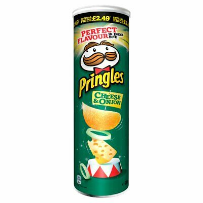 6 Tubes Of Pringles Cheese & Onion 200g  • 13.99£