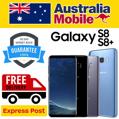 AU219 • Buy Samsung Galaxy S8 S8 Plus + SM950/955 AS NEW Unlocked 4G LTE Android Smartphone