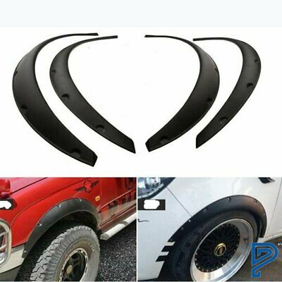 $25.99 • Buy 840MM Universal Fender Flares Flexible Durable Polyurethane Car Body 4 Pics US