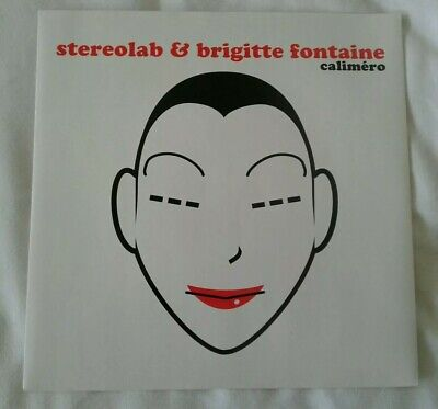 Stereolab & Brigitte Fontaine: Caliméro 7  White Vinyl Mint Unplayed DS45-25 • 11.49£