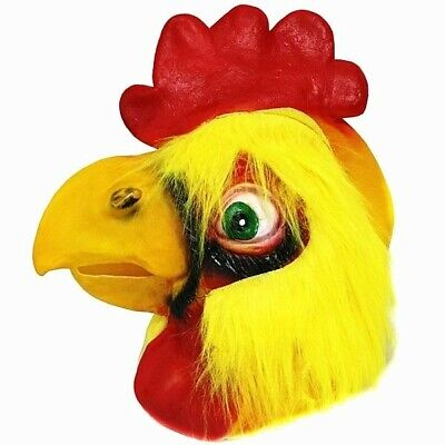 Fancy Dress, Costume Chicken Head Mask • 14.99£