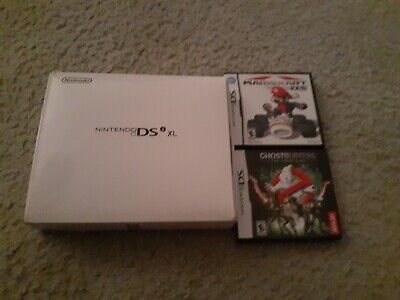 $180 • Buy Nintendo DSi XL 25th Anniversary Mario Edition Red W/ Super Mario Kart, Box More