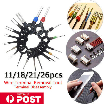 AU12.95 • Buy Terminal Removal Tool Car Circuit Wire Extractor Pin Cable Wiring Connectors OZ