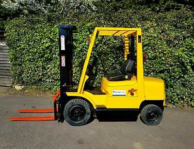 £6350 • Buy Hyster Diesel Counterbalance Forklift Truck/Triple Mast Container Spec
