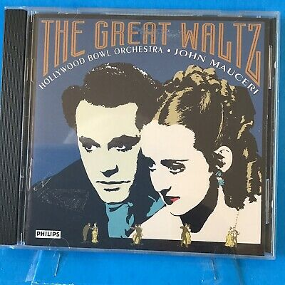 The Great Waltz, Others By Mauceri, Hollywood Bowl Orch. CD • 2.83£